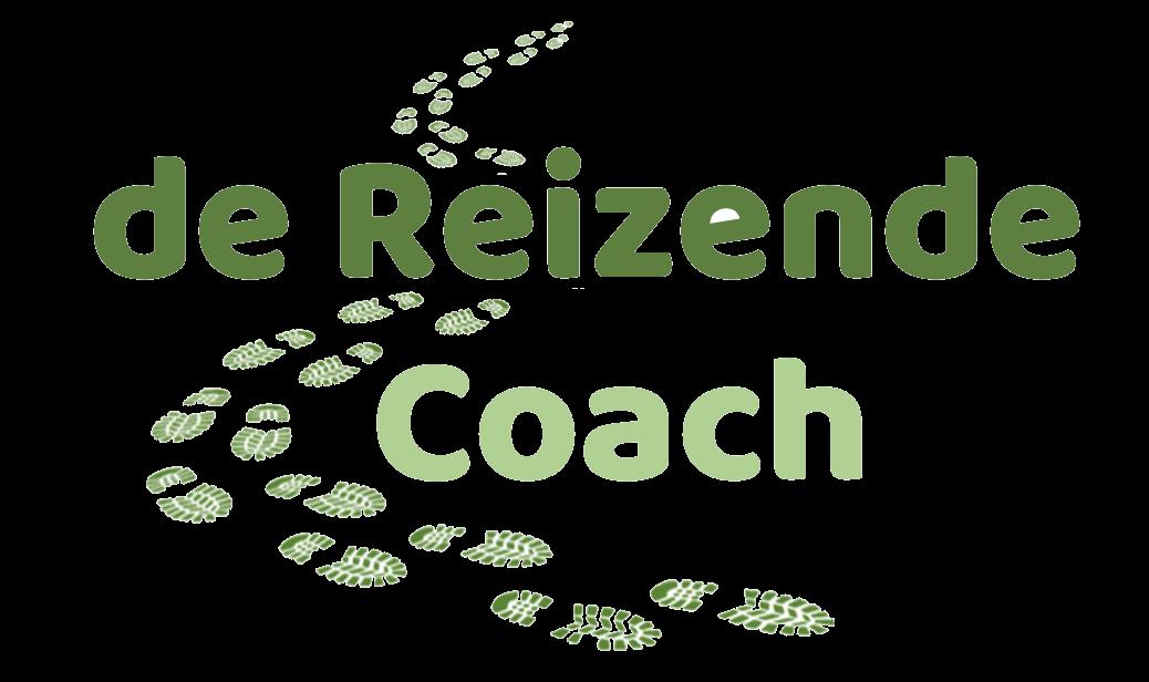 Logo de Reizende Coach - Transparant